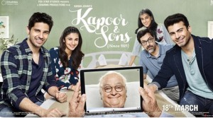 Kapoor and Sons Movie Poster Image 1