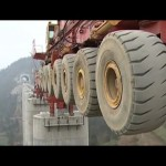 Bridge Girder Erection Monster Machine - Tech Videos