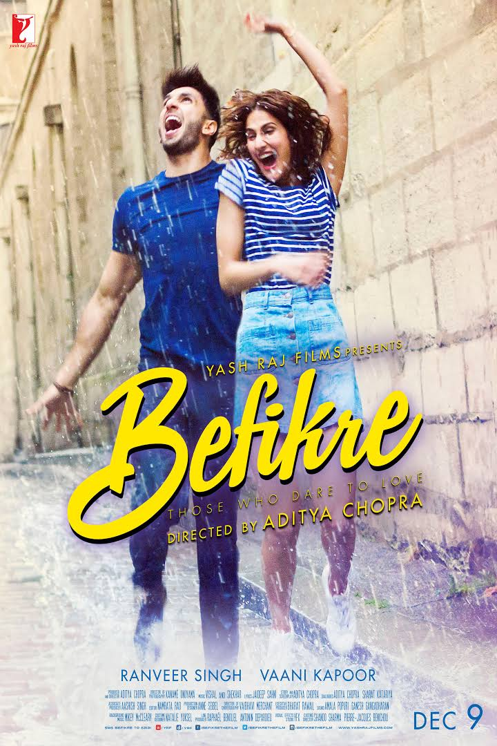 Befikre Bollywood Movie Poster Image 1