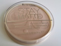 Rimmel Stay Matte Powder Review