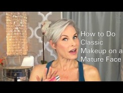 How to Do Classic Makeup on a Mature Face – Fashion Videos