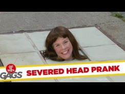 Screaming Severed Head Prank – Funny Videos
