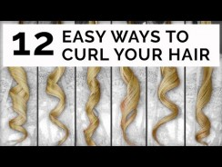 12 Easy Ways To Curl Your Hair – Fashion Videos