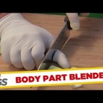 Body Part Blender Prank - Funny Videos