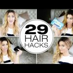 Simple Hair Hacks For Girls