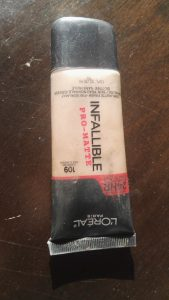 L'Oreal Infallible Pro-Matte Foundation Review 5