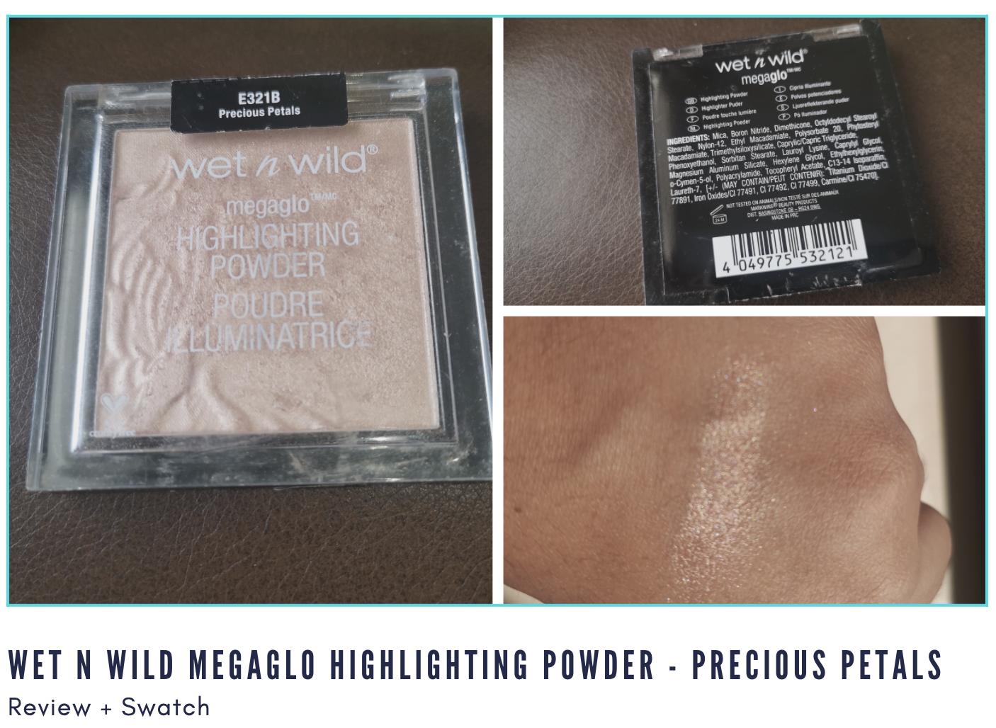 Wet n Wild Megaglo Highlighting Powder Review - Precious Petals - Display Image