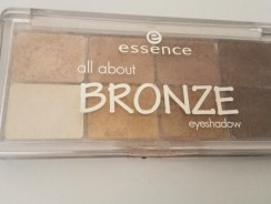 Essence All About Bronze Eyeshadow Palette Review
