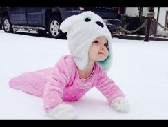 Cute Babies Playing in the Snow First Time – Funny Videos