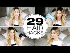 Simple Hair Hacks For Girls – Fashion Videos.